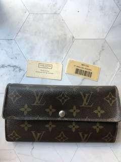 Authentic LV Monogram Wallet
