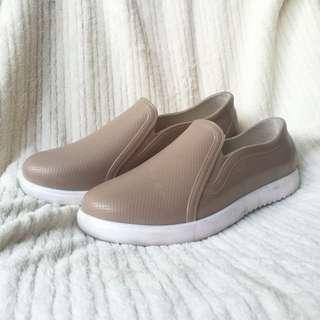 Jessica Nude Jelly Shoes - SIZE 9