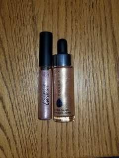 Tarteist Shimmering Lip Paint & Cover FX Glitter Drops