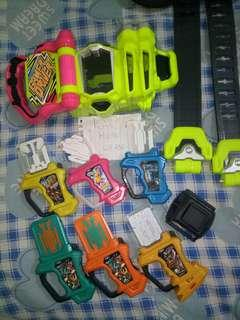WTS Kamen Rider Ex Aid Belt and Gashats