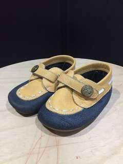 Softsole Shoes (Piababy) Blue -Yellow