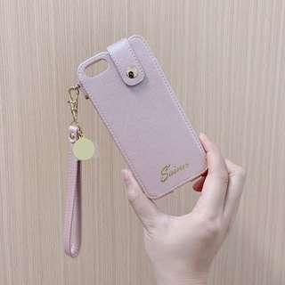 🚚 東京企劃Samie-iPhone 4.7吋手機殼粉色(近全新)