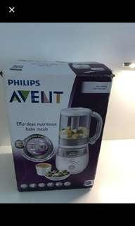 Philips Avent 4-in-1 Baby Food Maker Blender and Steamer