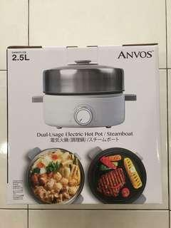 Anvos Dual Usage Electric Hotpot