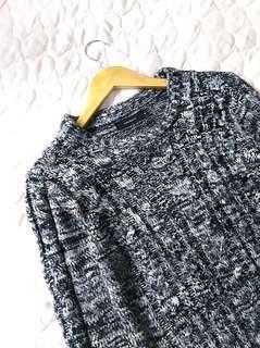 Multicolor Black White Sweater #new99