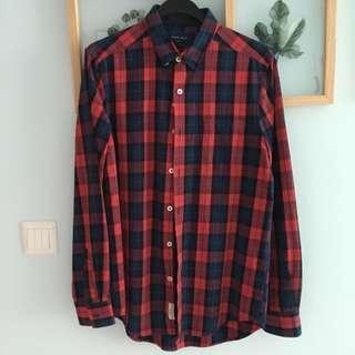 Brand New Rope Man Stylish Flannel Shirt