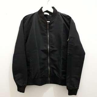 Bomber Jacket Black Mayoutfit