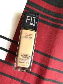 Maybelline FIT ME DEWY + smooth #nude beige