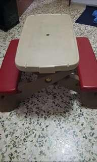 Kids Play Table And Beach Set