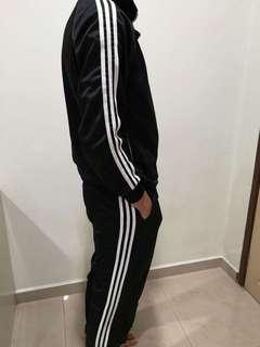 3 stripe track suit and track pant