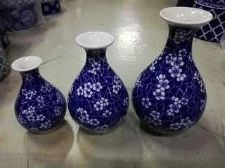 Vase set of 3
