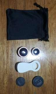 Phone Clip on Lens with Pouch