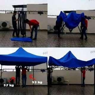 Tenda Lipat 2x2