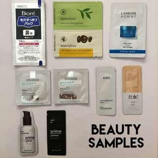 Assorted Beauty Samples