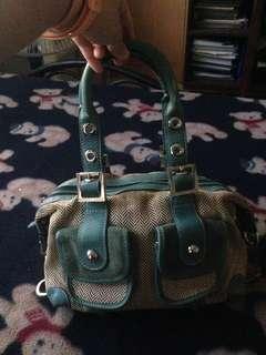 Small Blue handbag Rafe