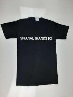 Special Thanks to Contribute Tee Shirt