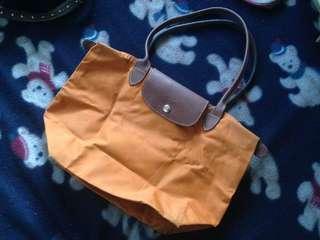 Original Small Longchamp bag Orange