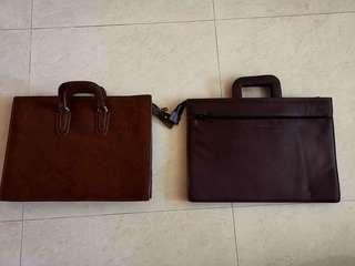 2 x brand new document bags with free delivery for 1 low price