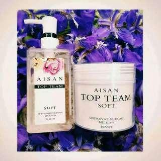Aisan Top Team shampoo and MASK 微女神