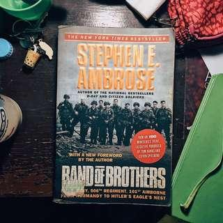 📚PRE-LOVED BOOKS FOR SALE📚 Band of Brothers by Stephen Ambrose