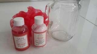 Bath Set in A Jar (Pink)