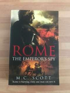 Rome, The Emperor's Story by M.C. Scott