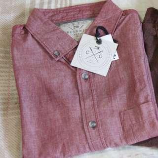 Brunswick Polo by Cotton on sz M-L