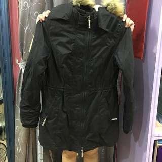 🚚 極度乾燥,全新,黑大衣,尺寸:XL