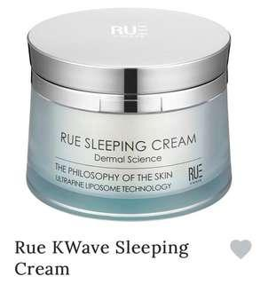 RUE Korean Sleeping Cream
