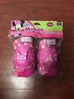 Disney Minnie Mouse Protective Gear with Elbow Pads, Knee Pads & Gloves
