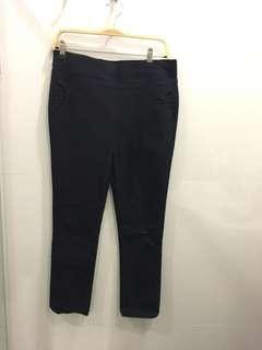 Officewear black pants stretch