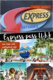 EXPRESS PASS / VIP PASS USS