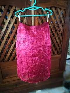 Red party skirt #PRECNY60