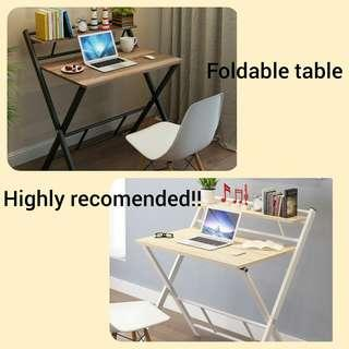 Table foldable INSTOCK!