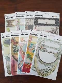 Basic Grey Journaling Cards with Transparencies