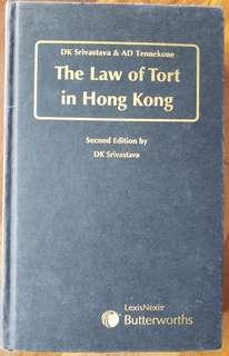 The Law of Tort in Hong Kong
