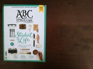 ABC Magazine: Student of Life by Abbey Sy