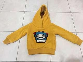 Baby sweater hoodie for winter