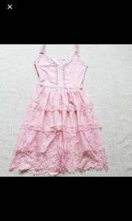 Pink soft dress CNY