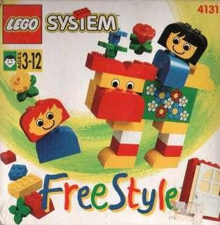 Lego System - 4131 Freestyle Lego Set