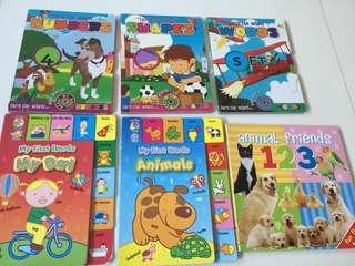 Children fun books - Set of 9
