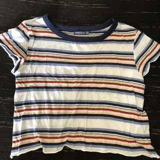 Bershka Striped Shirt