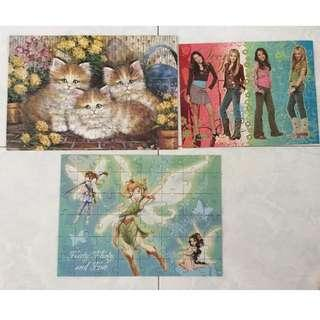 Jigsaw puzzles assorted!