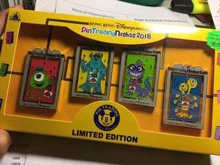 迪士尼徽章 襟章 Disney pin Pin Trading Nights 2018 Monster University