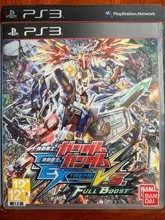 PS3 Game 機動戰士高達 Ex trems VS Full boost