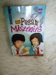 novel anak pesan misterius