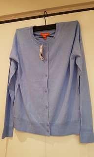 Blue Cardigan Brand New w/ tag