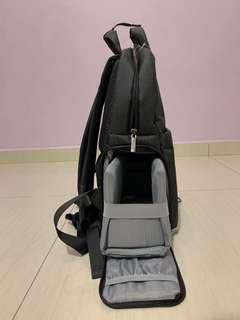 2-in-1 Camera and Laptop Backpack
