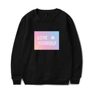 KPOP BTS Love Yourself 'Answer' Long Sleeve Sweatshirt