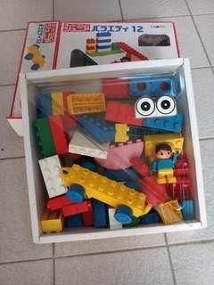 Building Blocks Japanese Lego Giant Kawada GV12